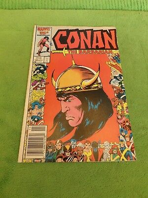 1986 Conan the Barbarian Issue 188 - Marvel 25th Anniversary Issue