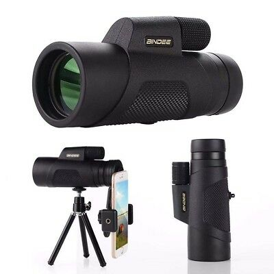 Monocular Telescope, 10X42 High-Definition Water-Proof,Fog-Proof with Smartphon