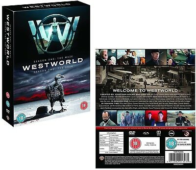 WESTWORLD 1-2 (2016 The Maze + 2018 The Door)  TV Season Series Eu R2 DVD