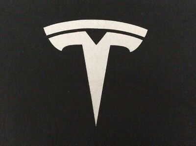 Tesla Mens Small Logo T Shirt
