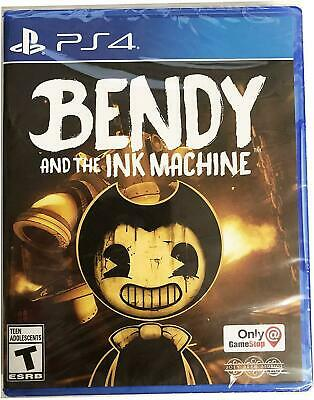 Bendy and the Ink Machine PS4 Sony PlayStation 4 *Gamestop Exclusive* New Sealed