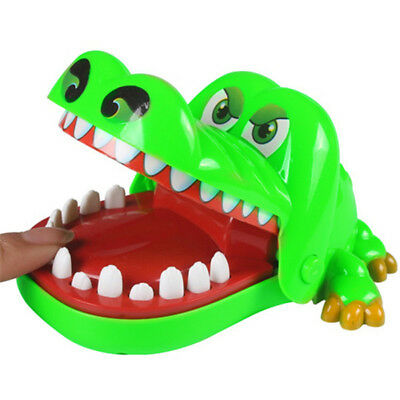Crocodile Bite Finger Game Funny Toy Bar Family Prank Game Toys