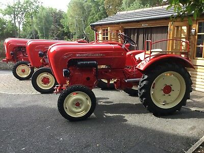 Porsche 218 Tractor Concours Condition, Fully Restored, Now Reduced!