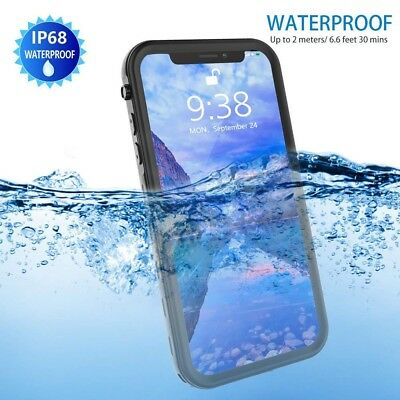 Transy iPhone Xs Max Full Protective Case Waterproof for iPhone Xs Max 6.5 2018