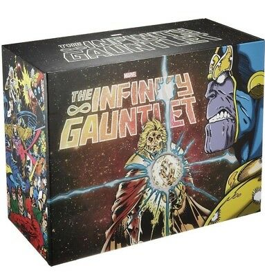 Infinity Gauntlet Hard Cover Slipcase Box Set 2018 NEW IN BOX MASSIVE COLLECTION
