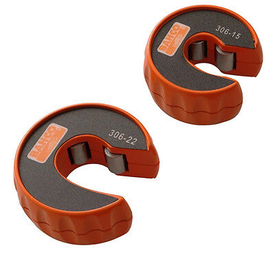 Bahco Plumbing Copper Pipe Slice Tube Cutters 15Mm & 22Mm