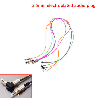 3.5mm jack cord stereo audio cable male to male 90degree right angle aux cableHF