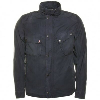 Barbour International Steve McQueen 9665 Navy Washed Jacket Extra Large