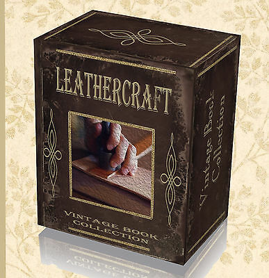 190 Rare Old Leather Making Books on DVD Craft Leatherwork Manual Guide Tools 35