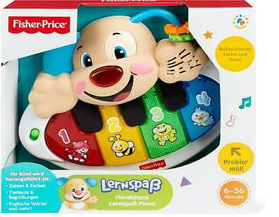 Fisher-Price Piano de Puppy Mattel