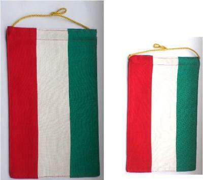 DDR Tisch - Fahne / Wimpel sozialistisches Ungarn / Hungary Flag for Table