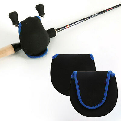 Case Cover Holder Fishing Reel Bag Neoprene Black Outdoor Waist Bag Pocket Bait