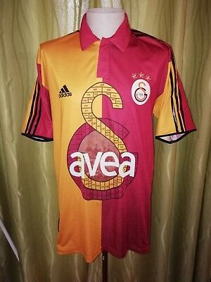 Galatasaray Turkey 2005 Centenary Home Football Shirt Jersey  Adidas Large