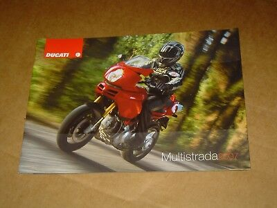 2007 Ducati Motorcycles Multistrada Brochure Catalog Mint! 36 Pages