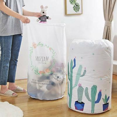 Foldable Home Closet Storage Bags Clothes Packaging Quilt Organizer Waterproof