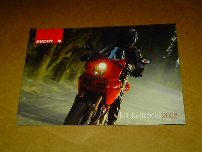 2008 Ducati Motorcycles Multistrada Brochure Catalog Mint! 28 Pages