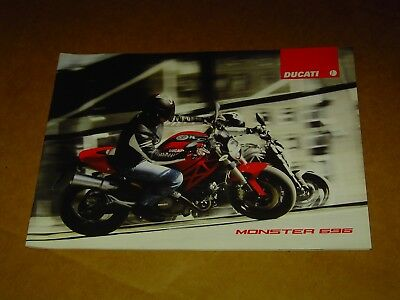 2008 Ducati Motorcycles Monster 696 Brochure Catalog Mint! 28 Pages