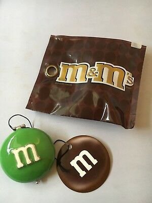 Monet M&M Green Hinged Trinket Boxes Compact Keepsake I Melt for No One