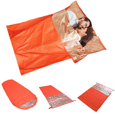 Emergency Sleeping Bag Warm Thermal Survival Camping Travel Bag Blanket Faddish