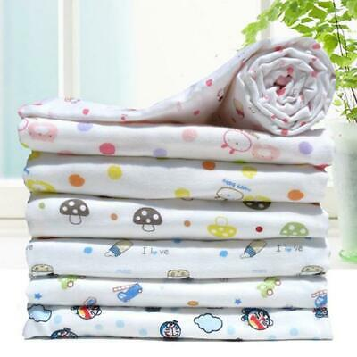 Newborn Baby Infant Kids Muslin Swaddle Soft Sleeping Blanket Wrap Bath Towel LC