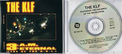 KLF - 3:a.m. eternal (Live at the S.S.L.) -  Maxi CD -