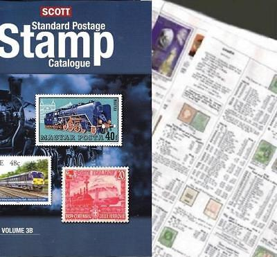 Hungary SHORT 2019 Scott Catalogue Pages 83-196