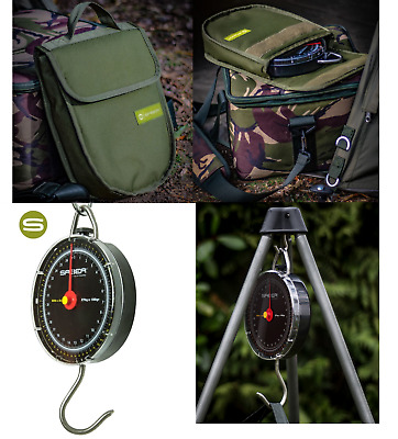 Saber Specimen Fishing Scales 27K Carp Fishing Dial Scales + Deluxe Case Option