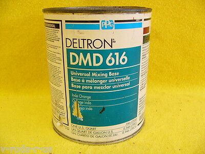 PPG Deltron, DMD616, Universal Mixing Base, Indo Orange, One U.S. Quart