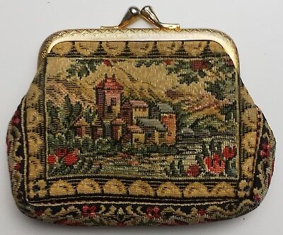 Vintage Hand Made Change Purse - Great Condition