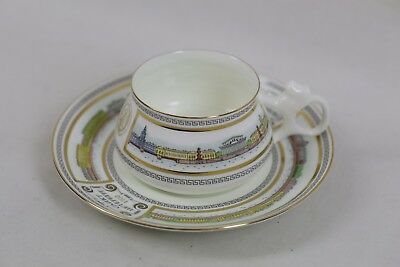 Imperial Porcelain 1744 St. Petersburg Neva Coffee Cup & Saucer 180ml - Bilibin