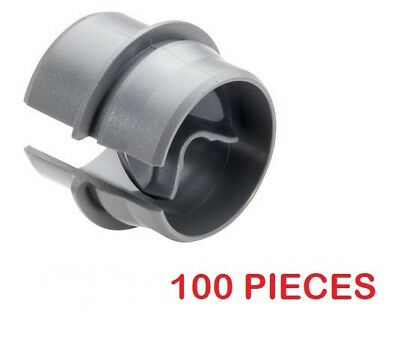 1/2 Inch Plastic Romex Wire Connectors Snap in UL Listed (100 Pcs)