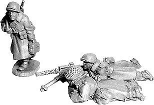 Artizan: US Infantry in Greatcoats .30cal Team