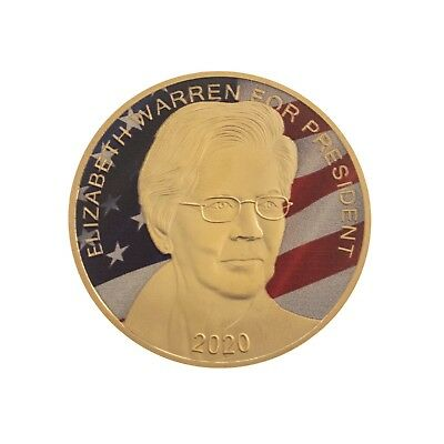 Elizabeth Warren For President Commemorative Coin