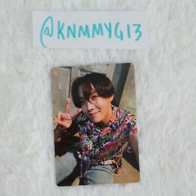 J-Hope Official Photocard BTS Army Bomb ver3 Light Stick Kpop Authentic