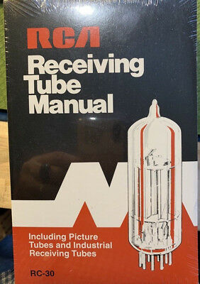 RCA Tube Manual RC30 New Authentic Reproduction- Shrink Wrapped