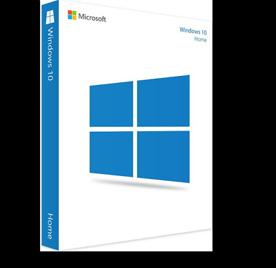 Microsoft Windows 10 Home Key 32 / 64 bit Activation Key License Code