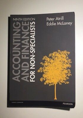 Accounting and Finance for Non-Specialists by Eddie McLaney, Peter Atrill 9th ed