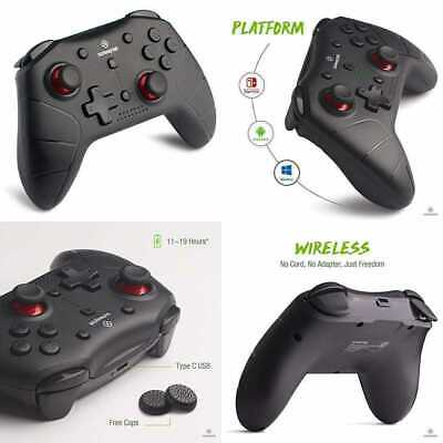 Wireless Pro Controller Compatible Nintendo Switch Windows/Steam Android