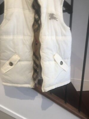 Burberry Boy / Girl Reversible Vest - Gilet Size 10Y / 140Cm   Brand New