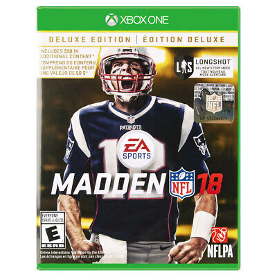 MADDEN NFL 18 DELUXE (GOAT) EDITION [E]  Xbox One