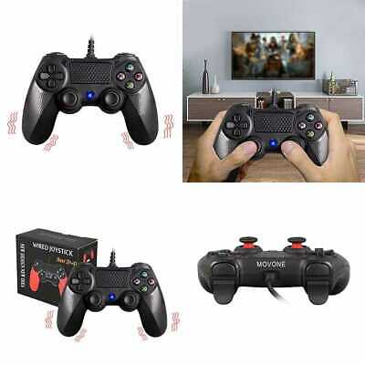 PS4 wired controller for Playstation 4, MOVONE professional usb PS4 wired gamepa