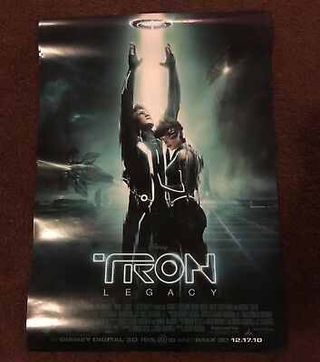 Tron Legacy Dual Side Movie Poster 18.5 X 27