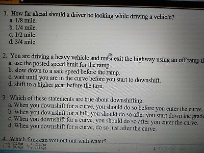 CDL Tests Questions & Answers