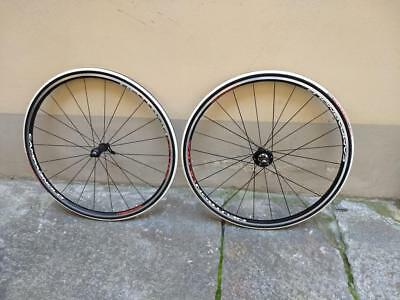 NEW, ruote CAMPAGNOLO NEUTRON ULTRA VITTORIA tyres 10 speed cassette wheelset
