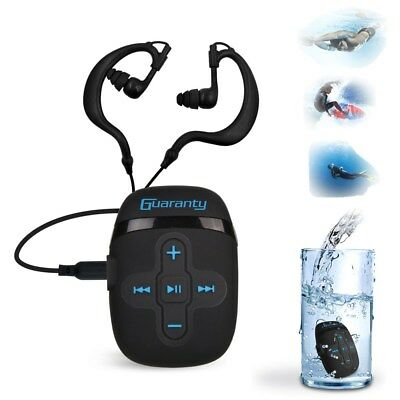 Sport Waterproof 8GB Swimming Diving Underwater MP3 Music Player w/Earphone Clip