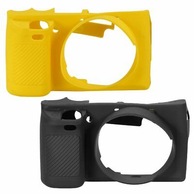 Silicone Rubber Camera Bag Case Skin Protector For Sony A6000 Soft Lightweight