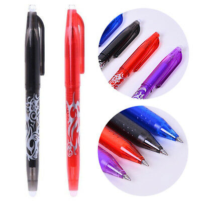 Creative 0.7mm Erasable Gel Ink Pen Learning Essential School Office Supply 1pc