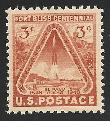 1948 First US Space Stamp Fort Bliss Centennial El Paso Texas V-2 Rocket MINT !