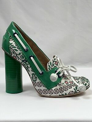 1366c010f NEW TORY BURCH Garden Party Fisher Pumps Heels Size 6.5 -  175.00 ...