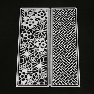 Hollow Flower Cutting Dies Stencil Scrapbooking Paper Card Embossing Craft DIY